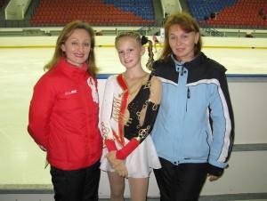 С Валентиной Михайловной и Ольгой