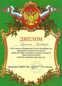 Первенство Санкт-Петербурга по фигурному катанию 2011