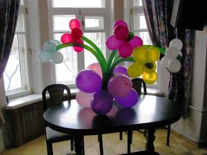 Букет из шаров для мамы