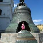 В Кремле. Царь-колокол