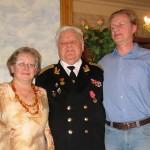 Бабушка Ира, дедушка Толя и папа