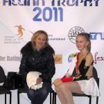 Я и Ольга Юрьевна в кисс-энд-край после произвольной