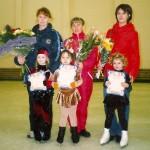"""Мой первый старт в 2003 году по """"Юному фигуристу"""" - я заняла второе место!"""